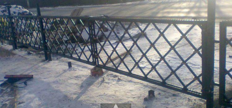 Кованые и сварные ограды в Магнитогорске