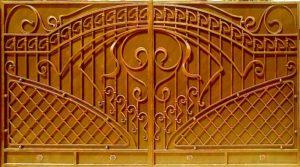 Кованые ворота, заборы, решетки в Магнитогорске