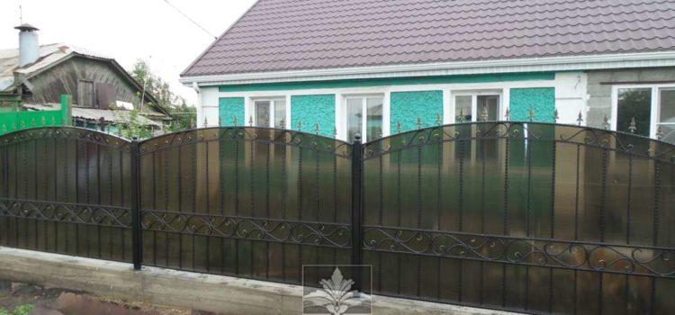 Сварные и кованые Заборы, ворота, калитки. Пос.Крылова